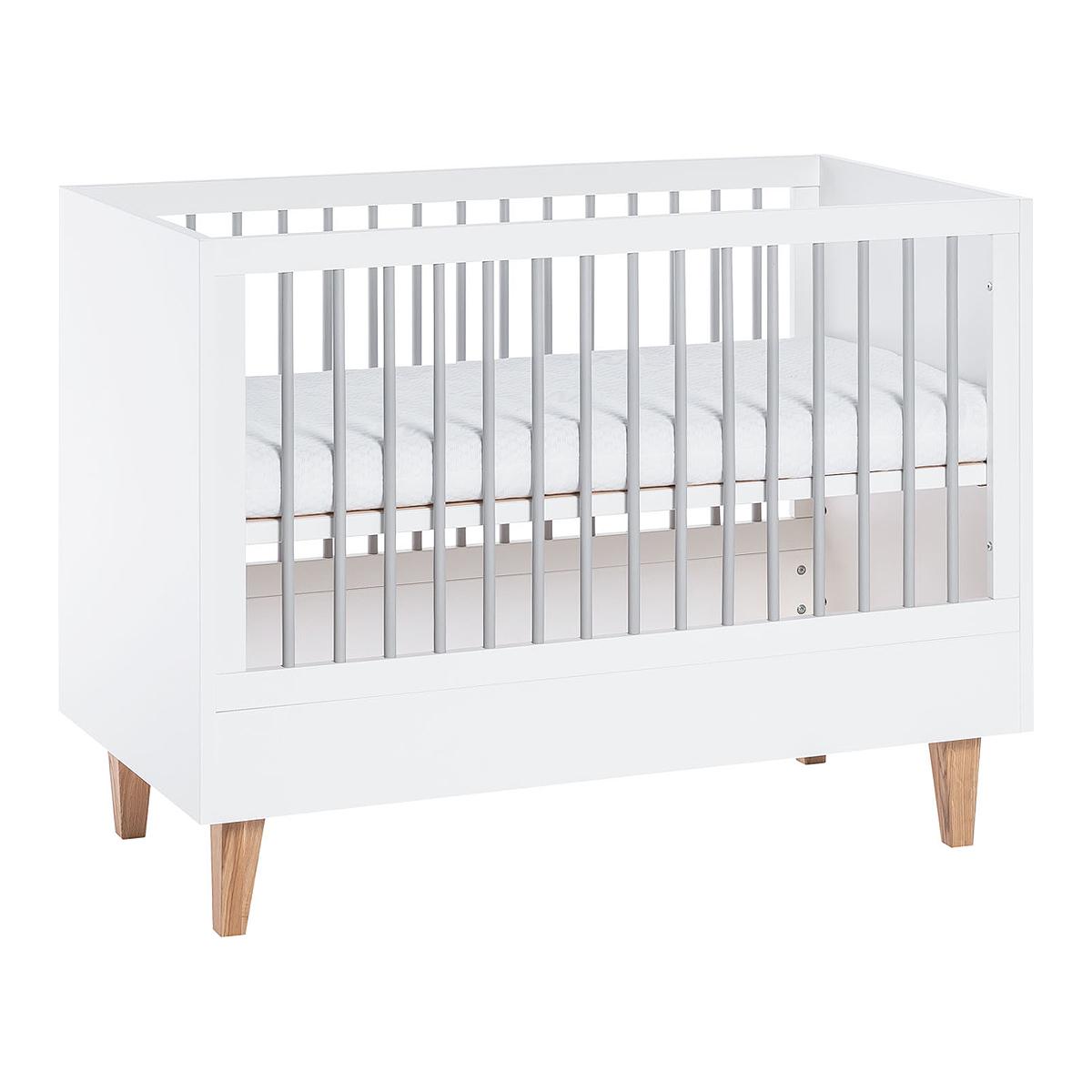 Lit bébé 60x120 Vox Concept - Blanc