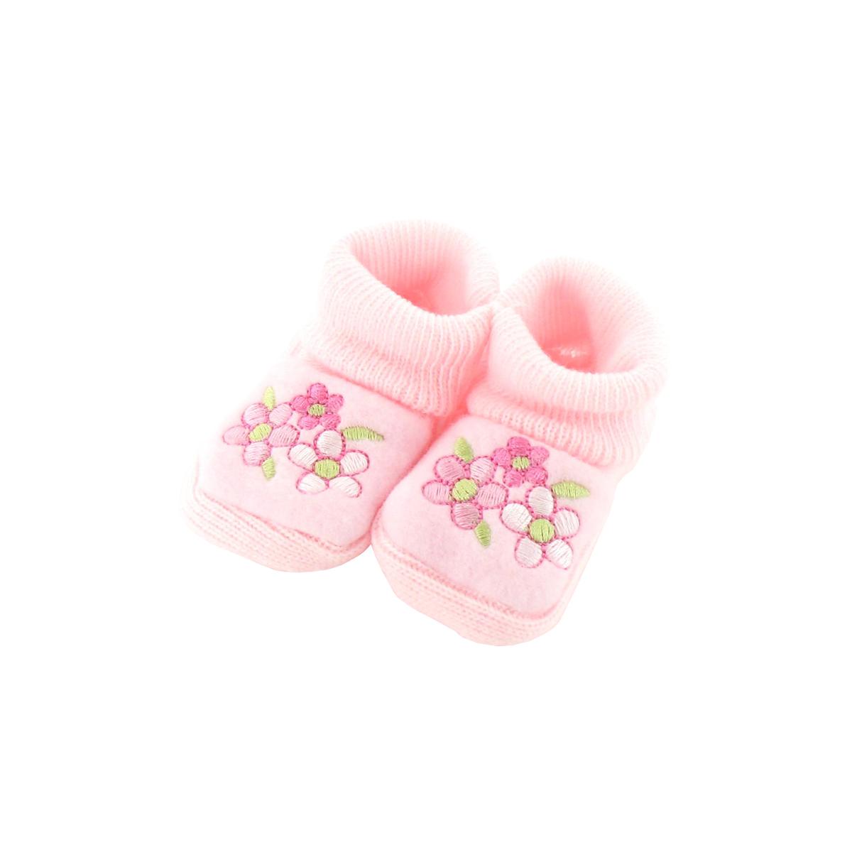 Chaussons pour bébé 0 à 3 Mois rose - Motif Ourson Lune M1tWvZ89W