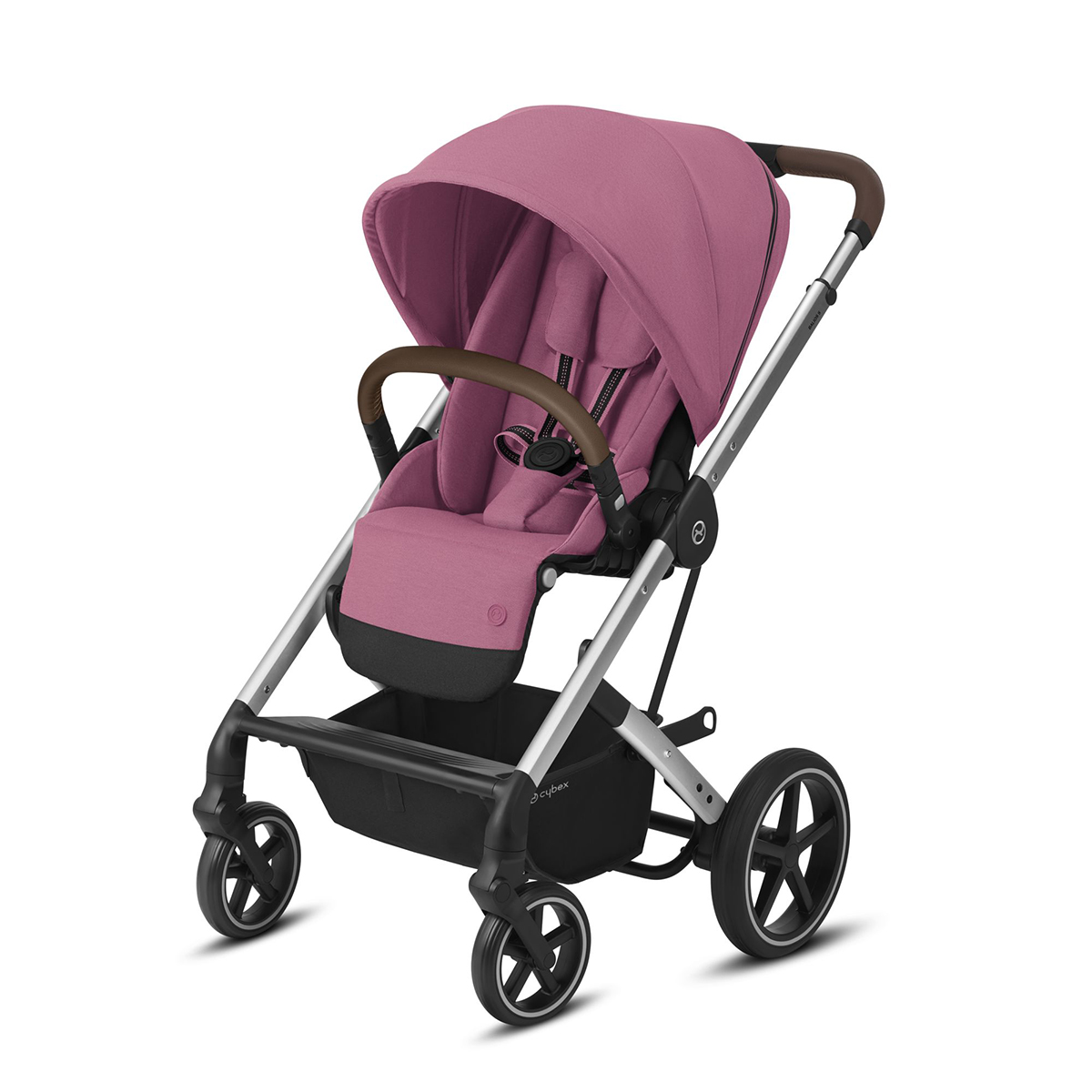 Poussette Buggy Cybex Balios S Lux - Silver Magnolia Pink