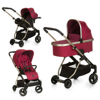 Poussette iCoo Acrobat XL Plus Trioset - Diamond Ruby