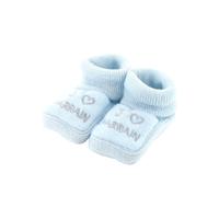 Chaussons pour bébé 0 à 3 Mois bleu - J'aime parrain