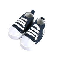 Basket pour bébé 6 à 12 Mois bleu marine et blanc