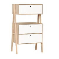 Commode 3 tiroirs Vox Spot - Blanc
