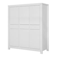 Armoire XL 3 portes Twf Malibu - Blanc