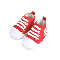Basket pour bébé 6 à 12 Mois rouge et blanc