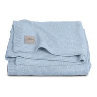 Couverture bébé Jollein 100x150cm Soft Knit - Bleu