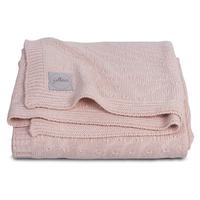 Couverture bébé Jollein 100x150cm Soft Knit - Pêche