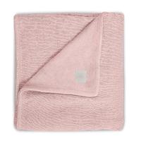 Couverture bébé Jollein 100x150cm Soft Knit Teddy - Pêche