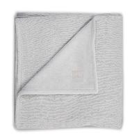 Couverture bébé Jollein 100x150cm Soft Knit Teddy - Gris
