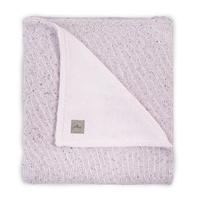 Couverture bébé Jollein 100x150cm Confetti Knit Teddy - Rose