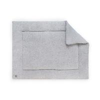Tapis de parc Jollein 80x100cm Confetti Knit - Gris