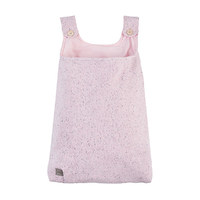 Vide-poches en tricot Jollein Confetti Knit - Rose