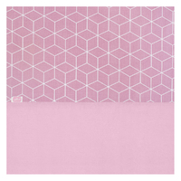 Drap Jollein 120x150cm Graphic - Rose