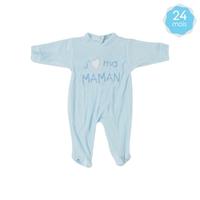 Babygro pour bébé 24 Mois bleu - J'aime ma maman