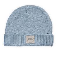 Bonnet pour bébé 2 à 9 Mois Jollein Soft Knit - Bleu