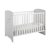 Lit bébé 60x120 Galipette Adèle - Blanc