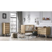 Chambre complète lit bébé 60x120 - commode à langer - chiffonnier Vox Vintage - Bois