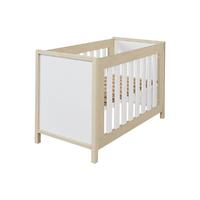 Lit bébé 60x120 Twf Air - Blanc Bois