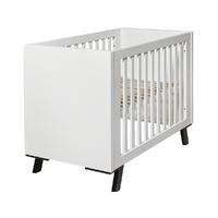 Lit bébé 60x120 Twf Pure - Blanc