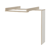 Plan à langer pour commode 4 niches Galipette Lora - Blanc