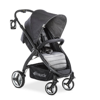 Poussette Buggy Hauck Lift Up 4 - Caviar Stone