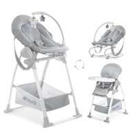 Chaise Haute Hauck Sit'n Relax 3in1 - Stretch Grey