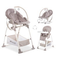 Chaise Haute Hauck Sit'n Relax 3in1 - Stretch Beige