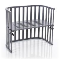 Berceau cododo Babybay Maxi Advance - Laqué gris ardoise