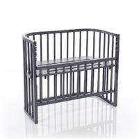 Berceau cododo Babybay Comfort - Laqué gris ardoise