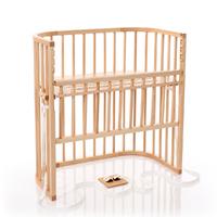 Berceau cododo Babybay Boxspring Comfort - Laqué naturel