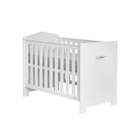 Lit bébé 60x120 Pinio Marsylia MDF - Blanc
