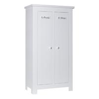 Armoire 2 portes Pinio Barcelona - Blanc