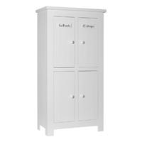Armoire 4 portes Pinio Barcelona - Blanc