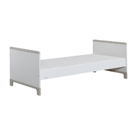 Lit junior 70x160 Pinio Mini - Blanc et gris