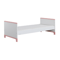 Lit junior 70x160 Pinio Mini - Blanc et rose