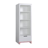 Bibliothèque Pinio Mini - Blanc et rose