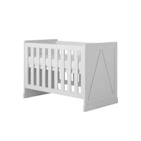 Lit bébé 60x120 Pinio Marie - Blanc