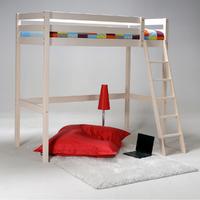 Lit mezzanine 90x190 Weber Industries Studio - Blanchi