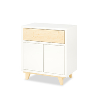 Commode 2 portes LittleSky by Klups Lydia - Blanc
