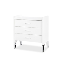 Commode 3 tiroirs LittleSky by Klups Blanka - Blanc