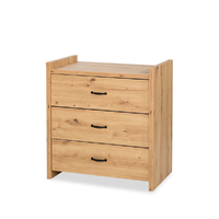 Commode 3 tiroirs LittleSky by Klups Amelia Oak - Chêne