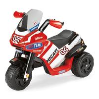 Moto 3 roues Peg Perego 6 Volts - Ducati Desmosedici