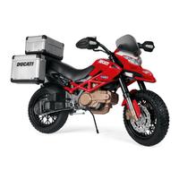 Moto 2 roues Peg Perego 12 Volts - Ducati Enduro