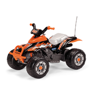 Quad 1 place Peg Perego 12 Volts - T Rex