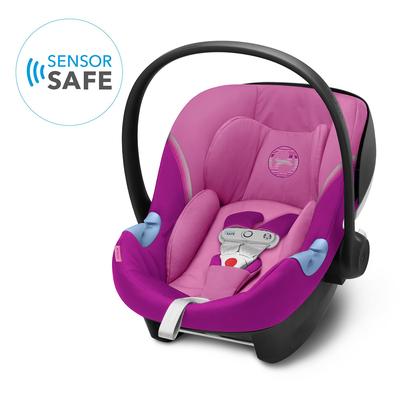 Siège Auto + SensorSafe Cybex Aton M I-Size - Magnolia Pink