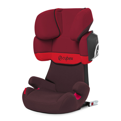 Siège Auto Cybex Solution X2-Fix Rumba Red - Dark Red