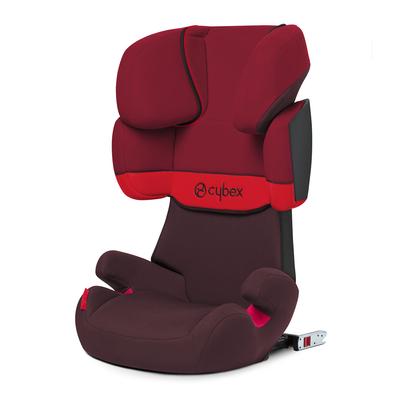 Siège Auto Cybex Solution X-Fix Rumba Red - Dark Red