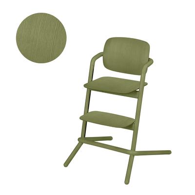 Chaise haute Cybex Lemo bois - Outback Green
