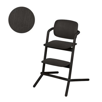 Chaise haute Cybex Lemo bois - Infinity Black