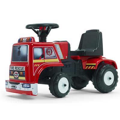 Porteur Falk Camion Fire Rescue - Rouge